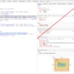 크롬 / 요소 검사 패널 레이아웃 변경하는 방법