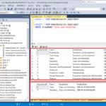 SQL Server / Query / 쿼리 만들고 실행하는 방법