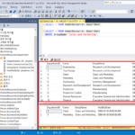 Microsoft SQL Server / Query / 쿼리 만들고 실행하는 방법