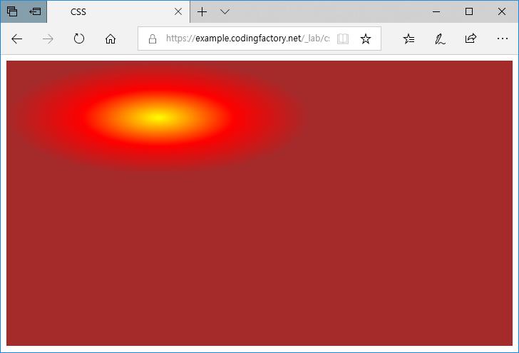 Css radial gradient coding factory - Div margin inline ...